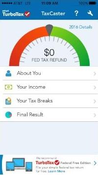 TurboTax 2020 Tax Calculator App Quick Start Guide